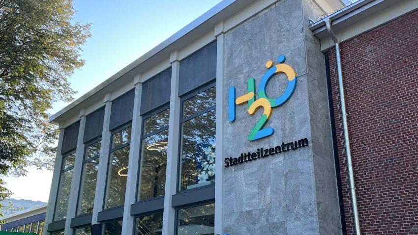 Das neue Stadtteilzentrum H2Ö am Hölkeskampring wurde vorgestellt.