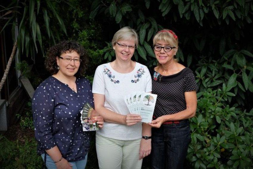 v.l. Karin Leutbecher, Karola Rehrmann, Annegret Müller.