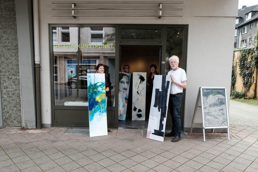 Künstlerbund Herne (HKB) bereitet erste Ausstellung im neuen Domizil vor.