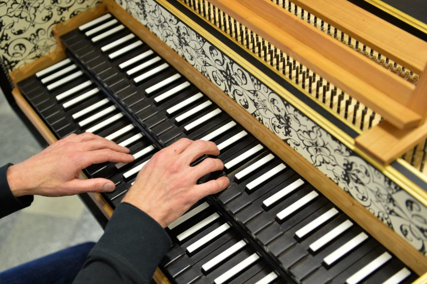 TRainer Kist am Cembalo - 41. Tagen Alter Musik