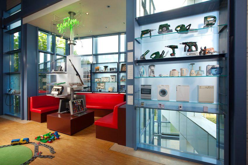 Die Spielecke im Museum Strom und Leben in Recklinghausen.