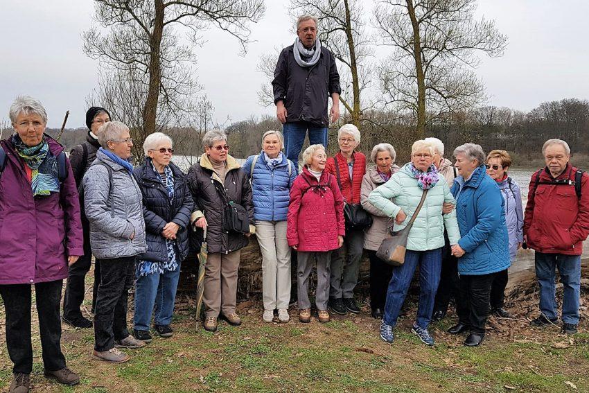 Wandergruppe des Vereins Sport mit Senioren.