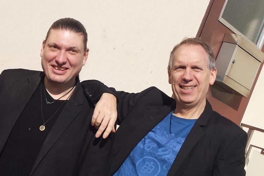 Patric Siewert und Mark Scheel sind Apoyando.