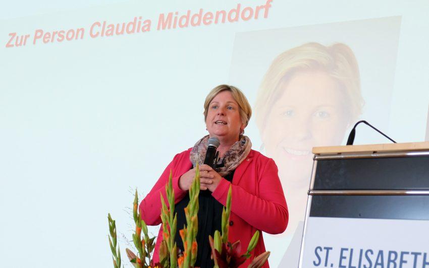 Claudia Middendorf.