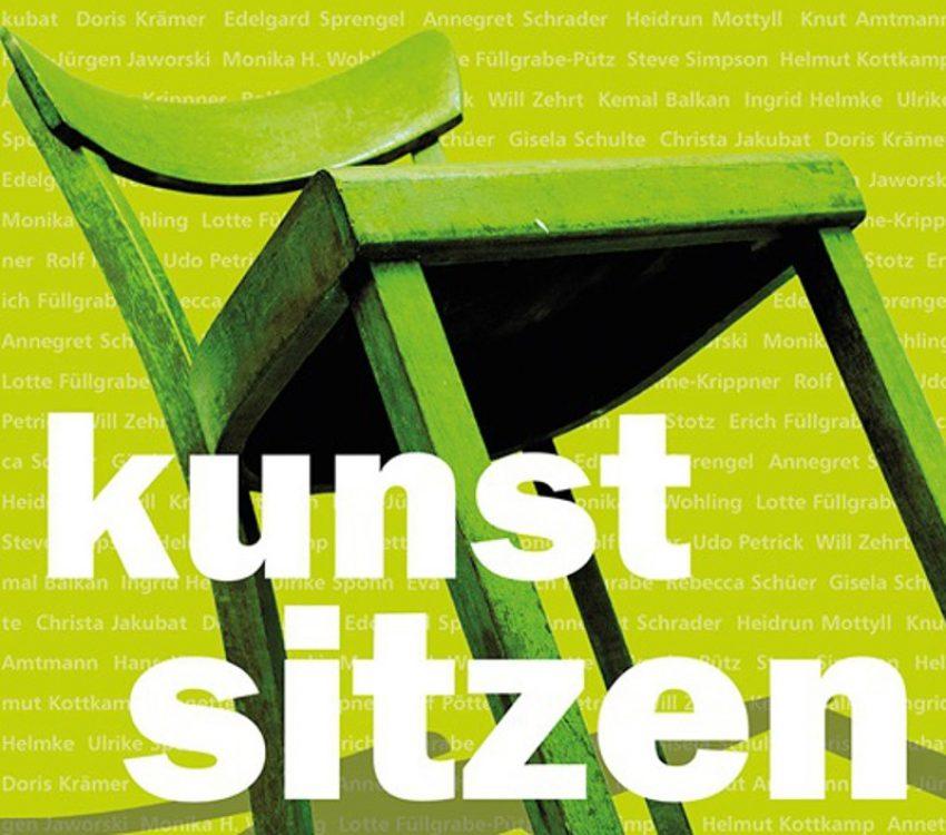 Plakat zur Ausstellung Kunstsitzen in der Christuskirche