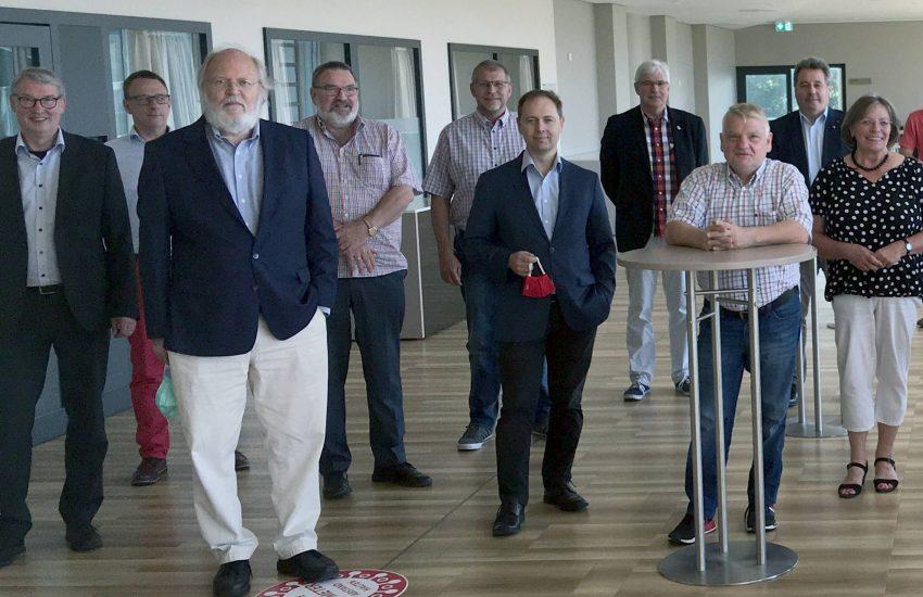 Treffen der SPD-Fraktionsvorsitzenden RUHR im Juni 2020.