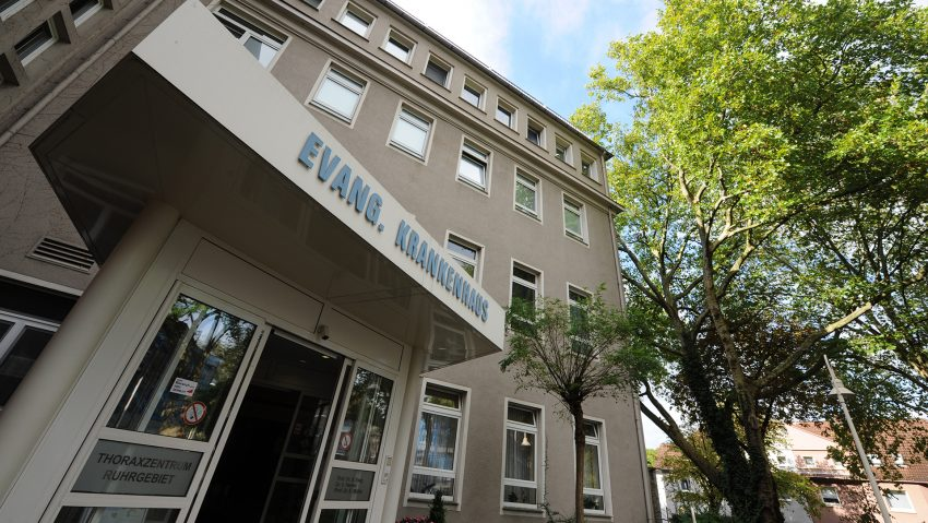 Das Thoraxzentrum Ruhrgebiet am EvK in Herne.