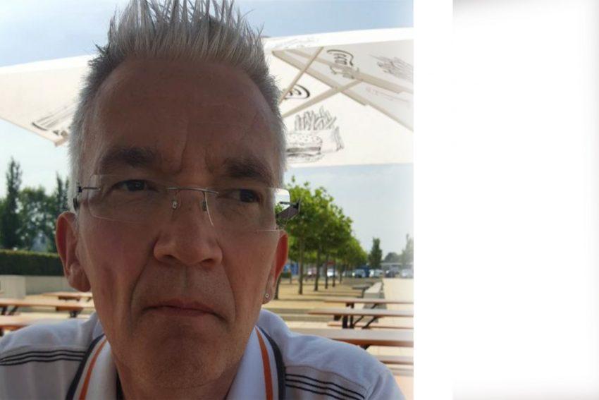Der 58-jährige Volker aus Herne hofft auf eine Stammzellen-Spende.