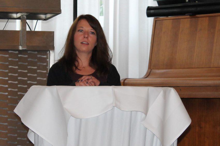 Ev. Johanneswerk - Diana Dietrich, Vorsitzende der regionalen Mitarbeitervertretung.