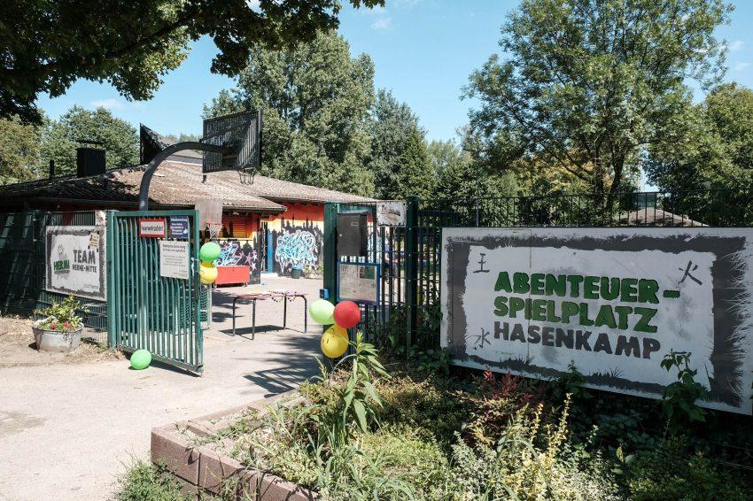 Tag der offenen Tür auf dem Abenteuerspielplatz Hasenkamp.