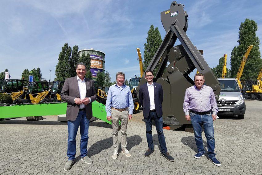 SPD-Fraktionschef Udo Sobieski besucht BRR in Holsterhausen.