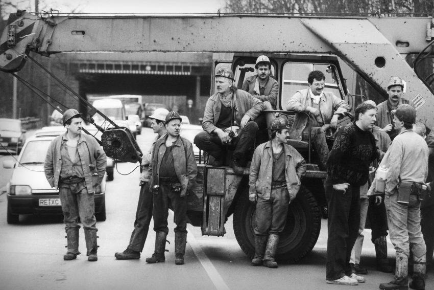 Arbeitskampf um Zeche Ewald: Und dann sperrten sie die Autobahn.