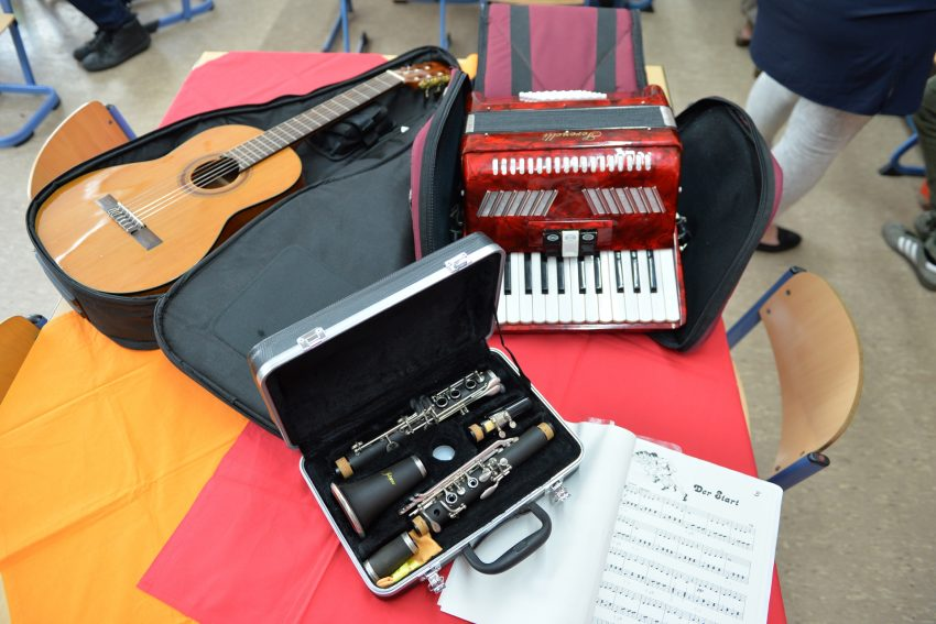 Auswahl der Musikinstrumente - Laurentiusschule