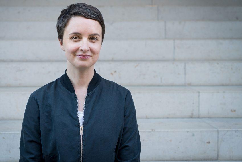 Katharina Adler kommt ins Literaturhaus.