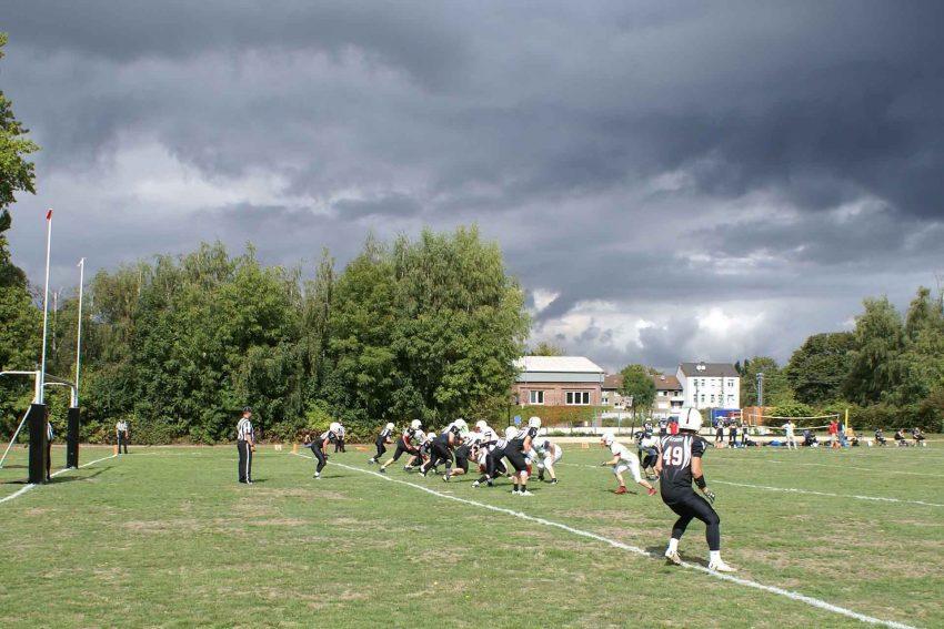 U19: Szene vor der Endzone (Herner Offense).
