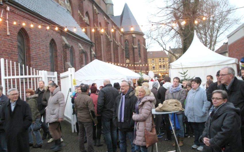 Adventsmarkt in Wanne Nord.