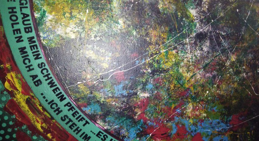 Werk der Ausstellung 'Stichwort: Glaube'.