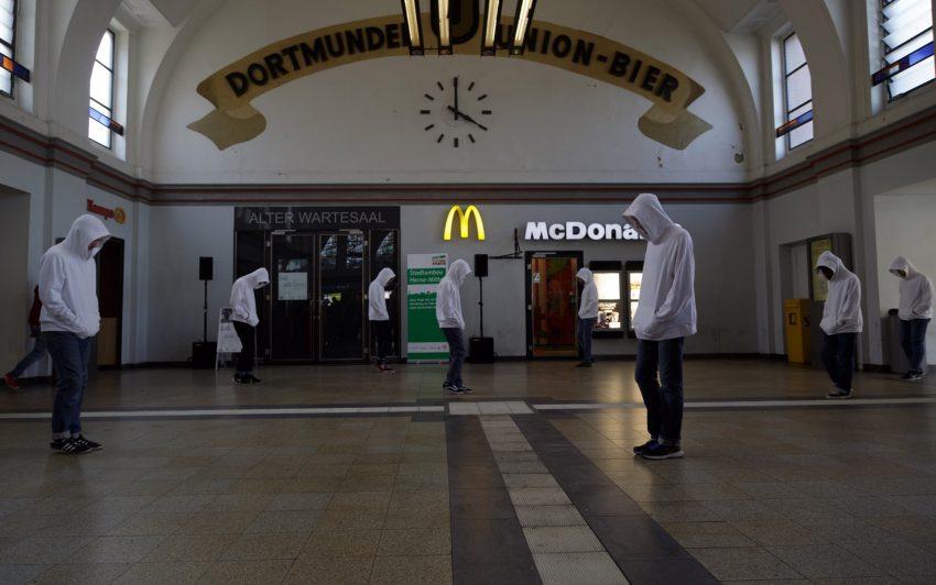 Die Wiedereröffnung des Alten Wartesaals.