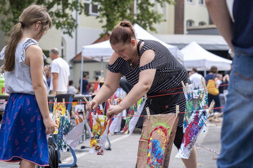 Sommerfest der städtischen Musikschule an der Gräffstraße in Herne (NW), am Samstag (06.07.2019).