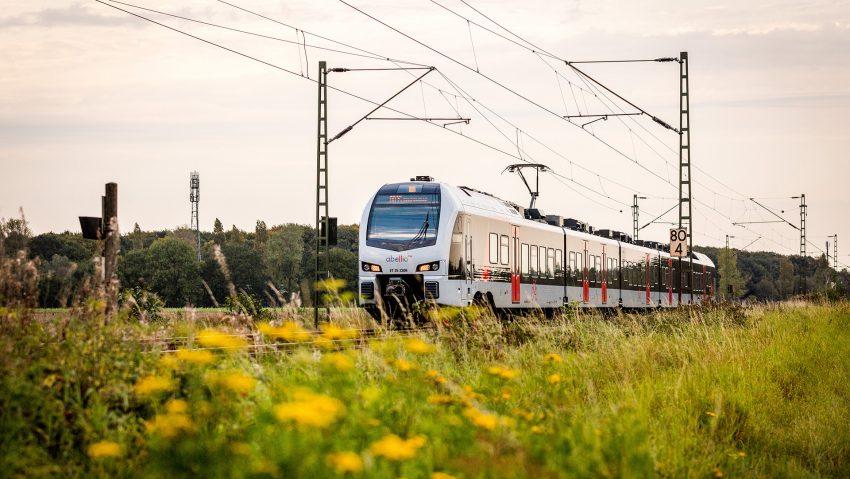 Symbolbild Abellio Zug am Niederrhein