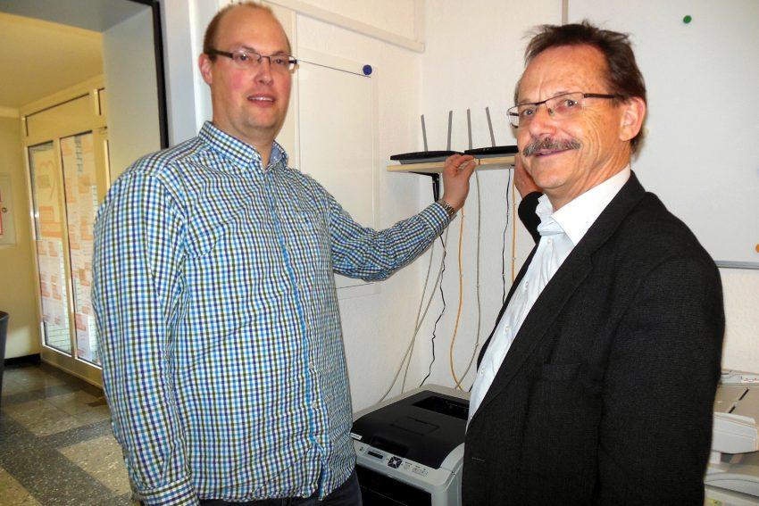 v.l. Thorsten Kuligga , Ulrich Klonki .