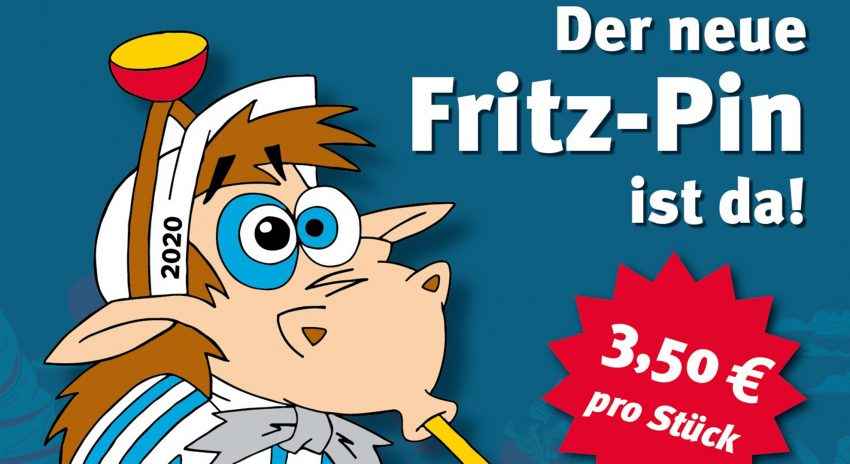 Neuer Fritz-Pin
