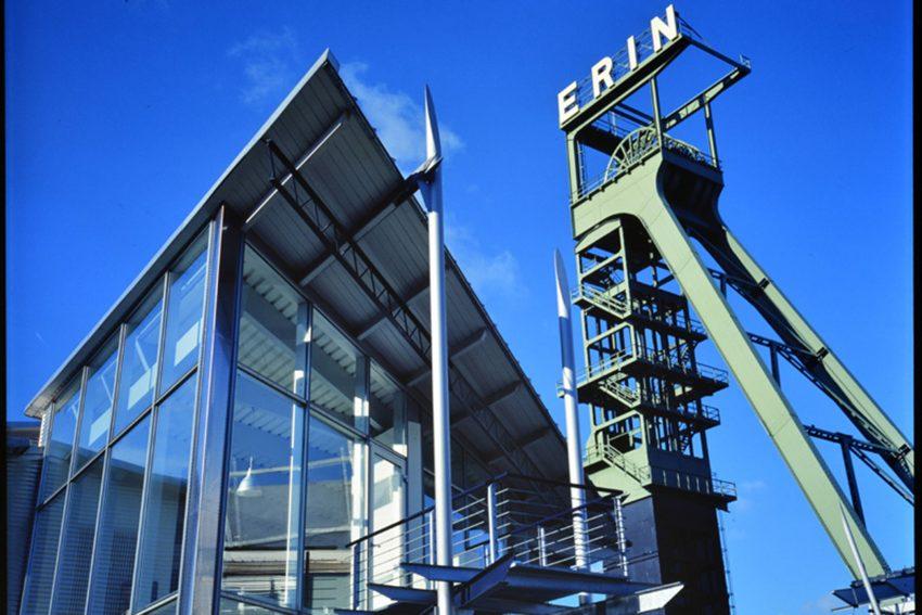 Die Zeche Erin in Castrop-Rauxel.