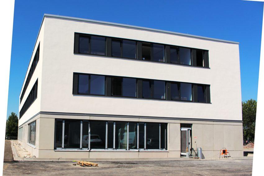 Der neue Zentrale Betriebshof nimmt Formen an und wird zum 1. August 2020 feriggestellt.