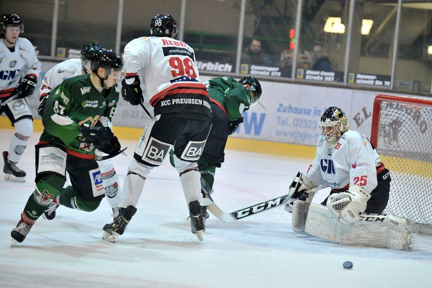 Preussen in Herne: 5:4 in der Overtime.