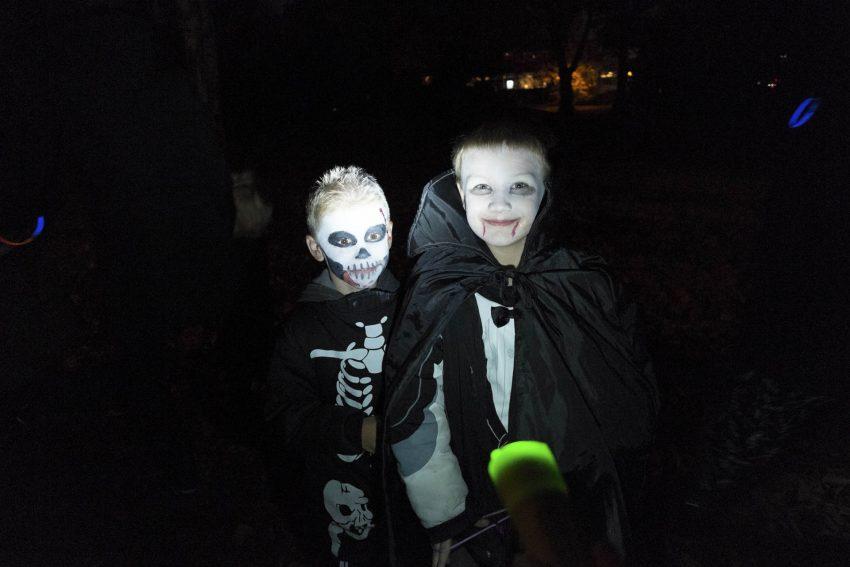 Halloween mit den Mondrittern im Stadtgarten.