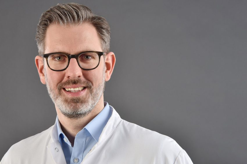 Dr. Jens Verbeek, Chefarzt der Gastroenterologie am EvK Herne.