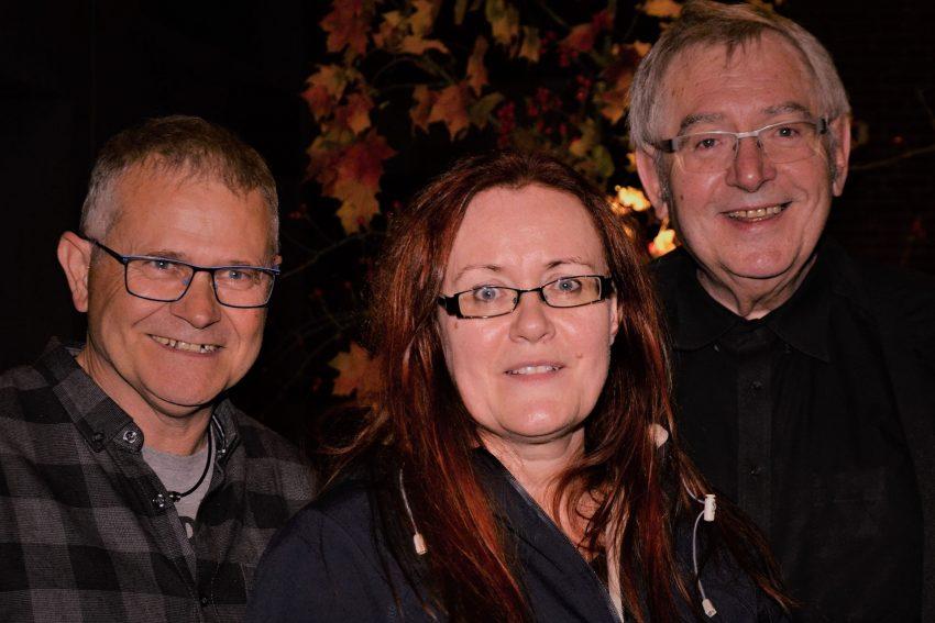 Kai, Sylvia und Jörg-Walter sind die Gruppe SOMA.