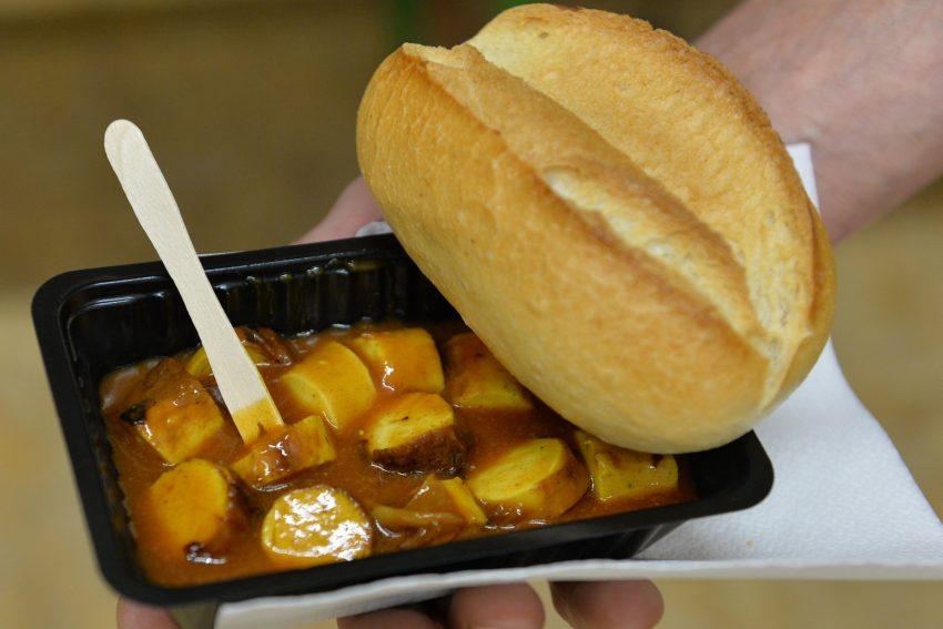 Currywurst für alle.