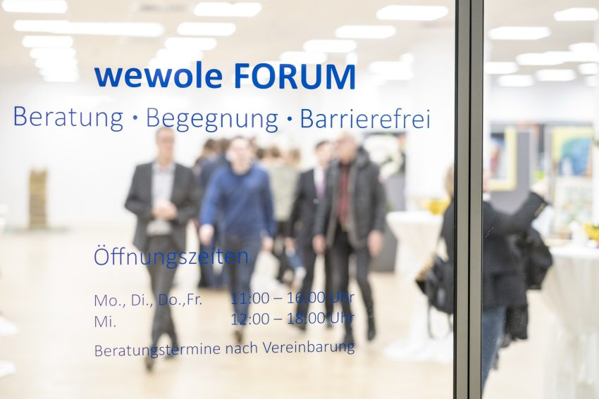Eröffnung des neuen Wewole Forums im City Center, an der Bahnhofstraße 7 a-c, in Herne (NW), am Freitag (18.01.2019).
