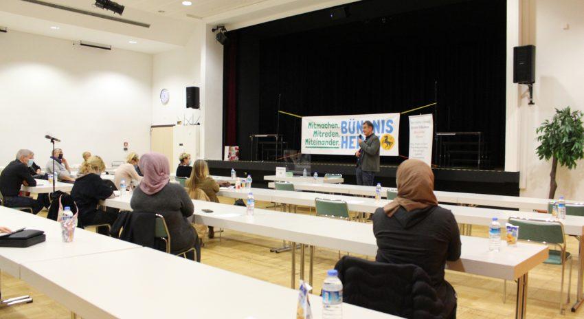 Die Veranstaltung ist Teil des Förderprogramms 'Komm an NRW'.