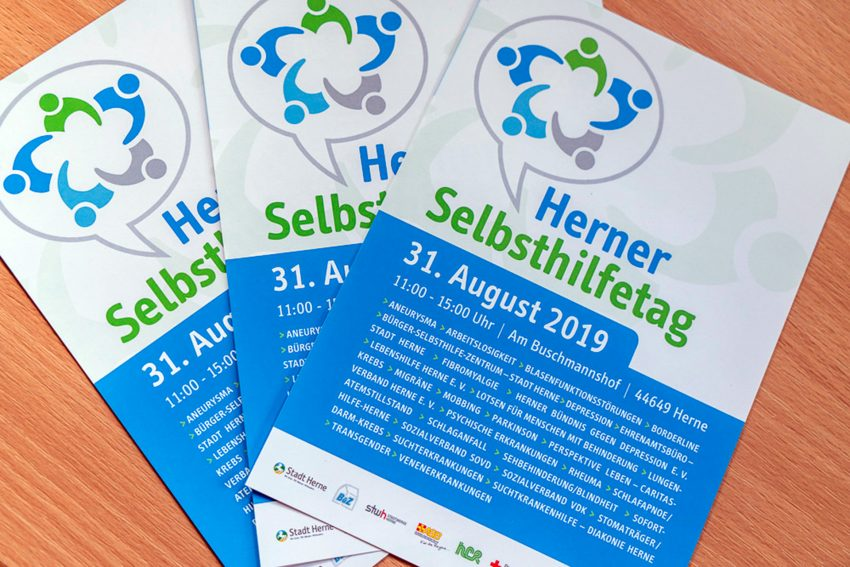 Am 31. August 2019 ist Herner Selbsthilfetag.