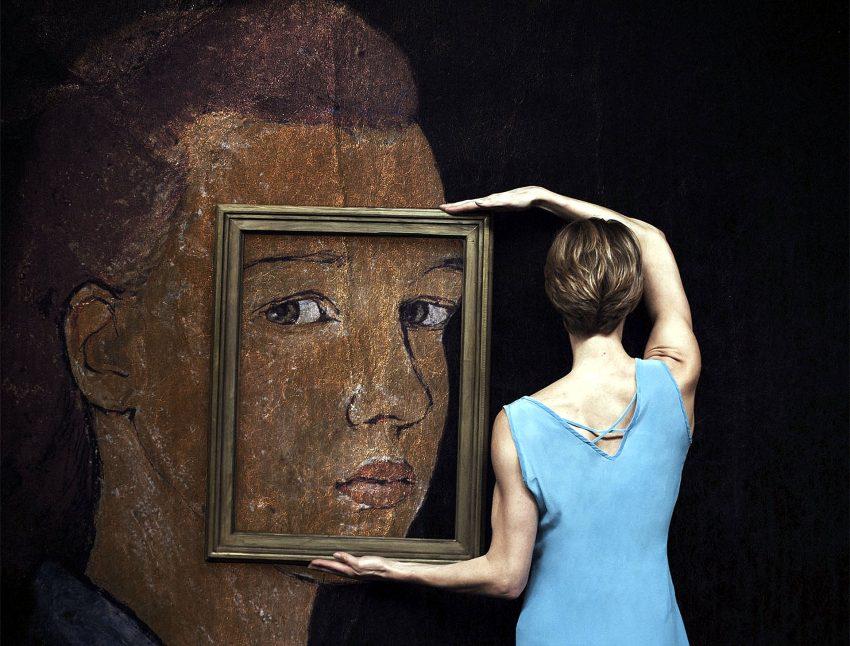 Der Tod und die Malerin.
