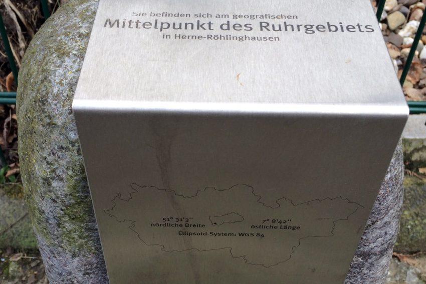 Röhlinghausen ist der Mittelpunkt des Ruhrgebiets.