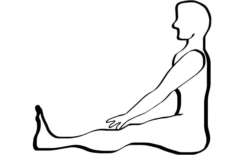 Yoga im Sitzen - für Senioren.