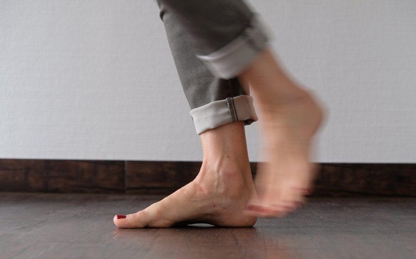 Füße sind kompliziert aufgebaut.