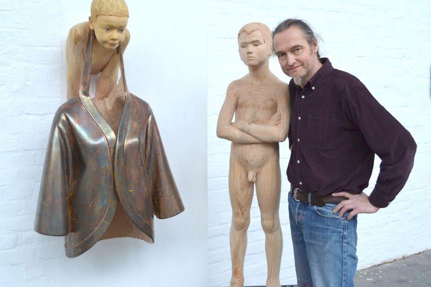 Christoph Platz' Skulpturen zeigen seine Söhne.
