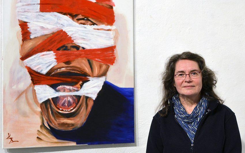Birgit Poch malt Emotionen in ihrer ursprünglichen Kraft.
