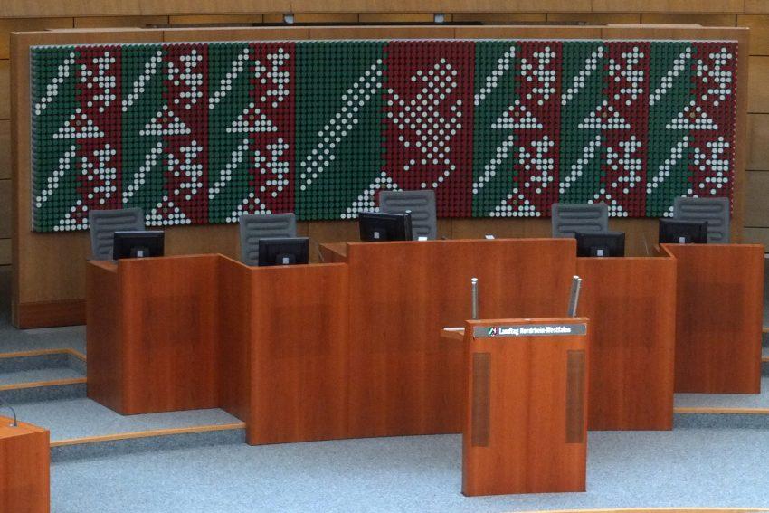 Düsseldorfer Landtag.