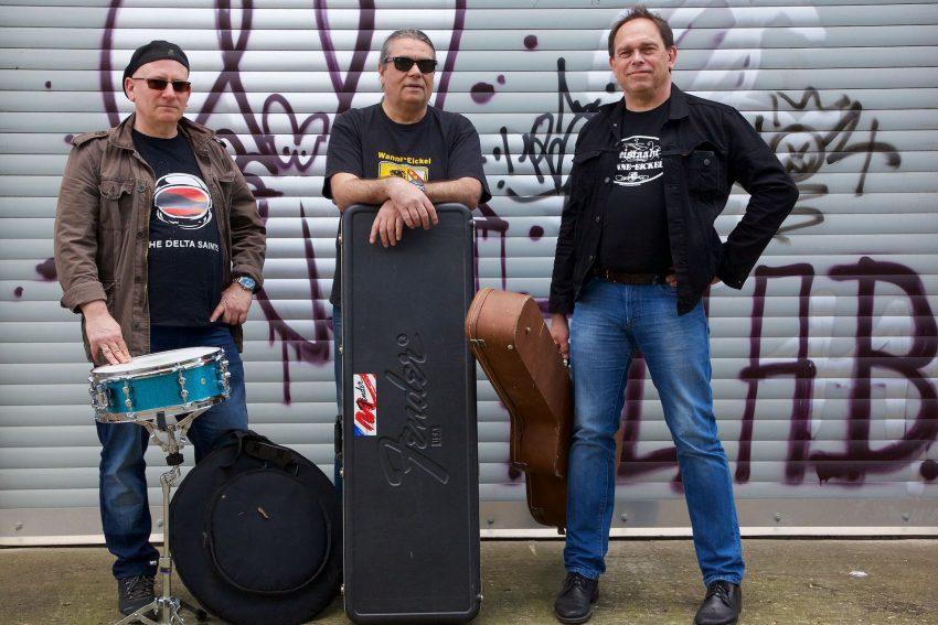 Guntram Leuchtkäfer: v.l. Stefan Schreiner (Drums), Ernst Kammann (Bass), Jochen Bauer (Gitarre, Gesang).