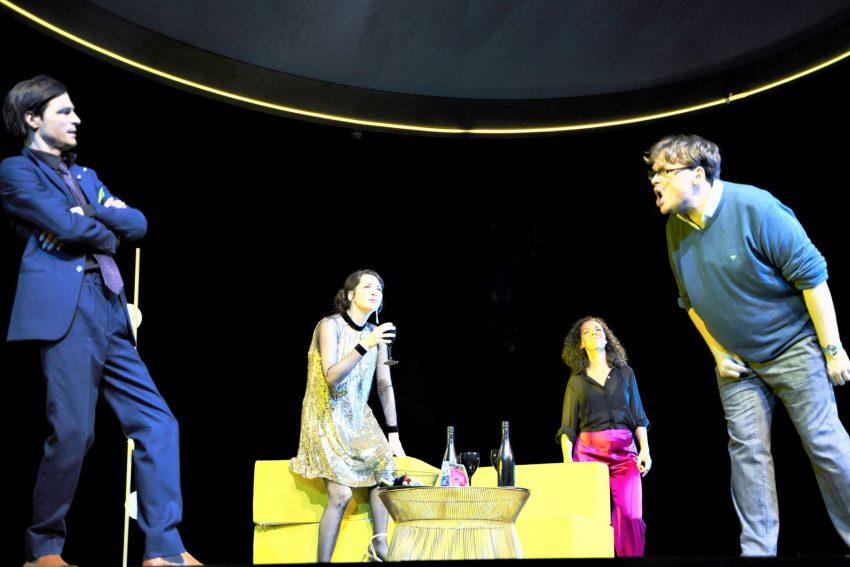 v.l. Oliver Möller, Jele Brückner, Karin Moog und Sascha Nathan.
