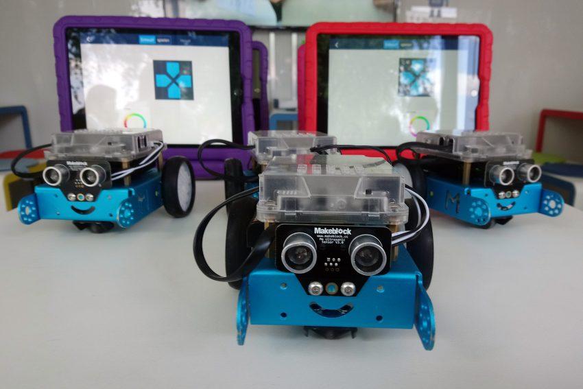 Roboter in der Digitalwerkstatt.
