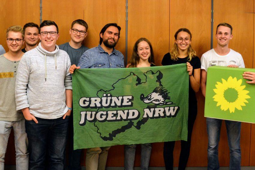 Die Grüne Jugend lädt ein.