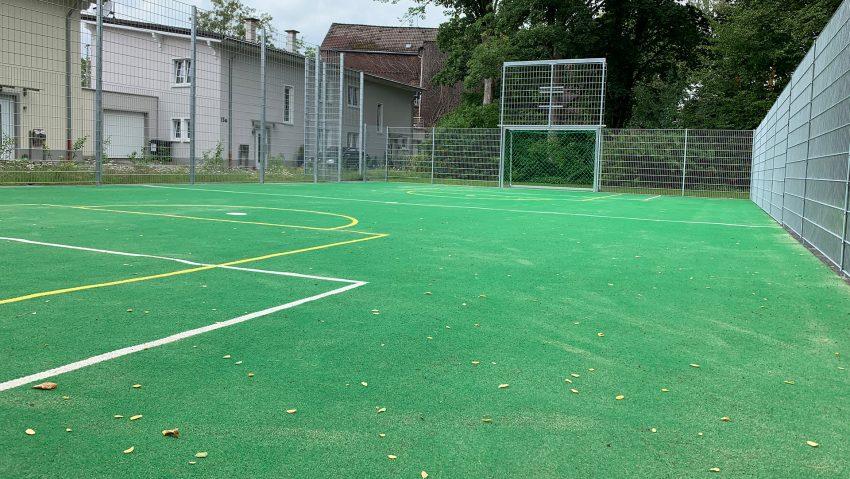 Der umgebaute Spielplatz Am Alten Amt