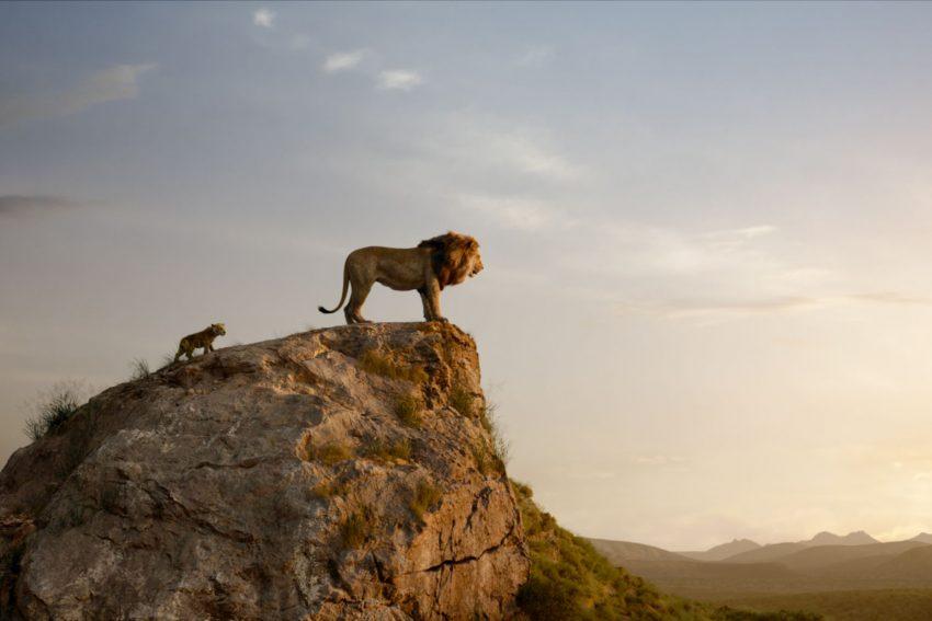 König der Löwen: Mufasa und Simba.