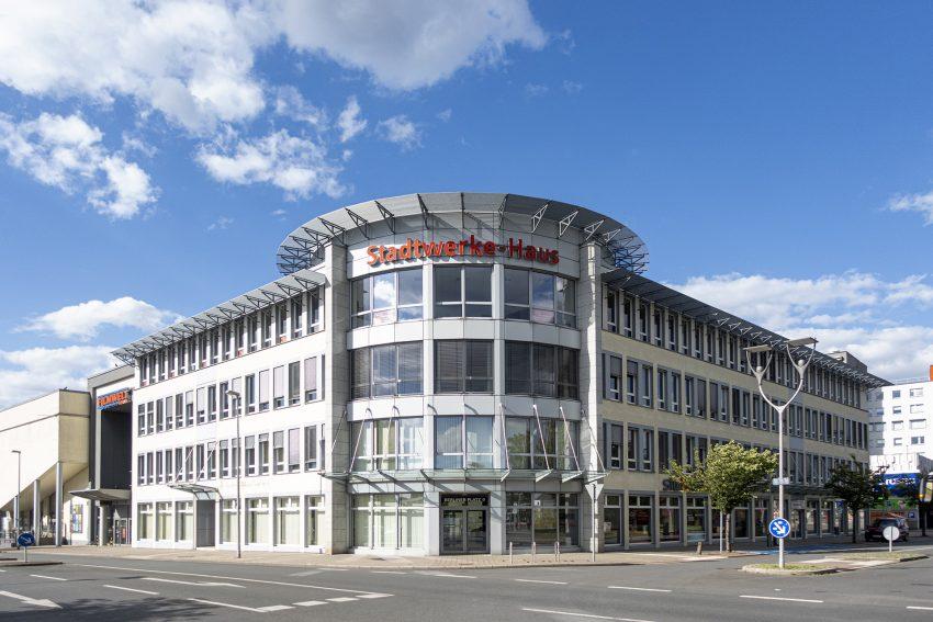 Das Stadtwerke-Haus am Berliner Platz in Herne (NW), am Samstag (06.06.2020).